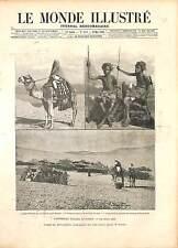 Mahdist War Sudan Campaign Anglo–Sudan War Great Britain Africa GRAVURE 1896