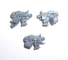 Warhammer 40K Space Wolves Thunderwolf Cavalry Bolt Pistols x 3 – Y086