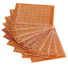 10x DIY PCB Universal Prototype Paper Matrix Circuit Board Stripboard 5x7cm GA