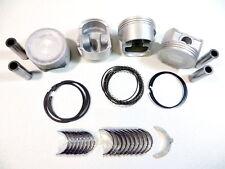 Piston/Ring(.50mm)+Eng-Bearing(Std.) Kit 01-05 1.7L Honda Vtec Civic EX HX D17A