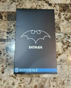 "Batman DC Comics SIDESHOW Collectibles HOT TOYS 1/6 Scale 12"" MIB"