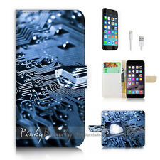 ( For iPhone 7 Plus ) Wallet Case Cover P2341 Motherboard