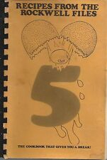 *NEWTON MA 1979 LASELL COLLEGE PRESCHOOL COOK BOOK *RECIPES FROM ROCKWELL FILES