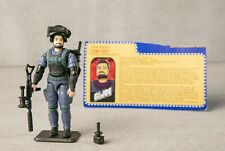 Vintage GI Joe Low-Light 2001 v5 COMPLETE ARAH w file card