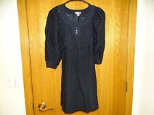 Size 4 H&M Black Dress- Worn ONCE- Excellent Condition
