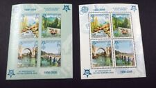 SUPERBE LOT DE 2 BLOCS 13A ET 13B ** BOSNIE HERSEGOVINE REPUBLIQUE SERBE COTE 71