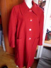 Beau manteau long chaud  en 100% laine vintage  T 44/46