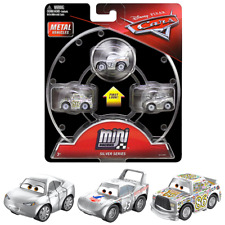 Silver Series Mini Racers Diecast 3-Pack Cars with Silver Natalie Certain