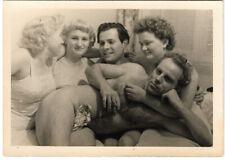 1940s SWINGERS original photo gelatin silver