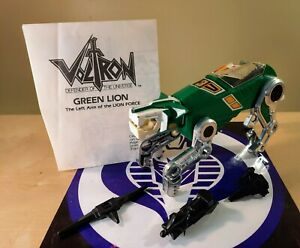 PANOSH PLACE VOLTRON GREEN LION WITH INSTRUCTIONS 1984