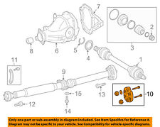 MERCEDES OEM 11-15 ML350 Propeller Shaft-Rear-Flex Coupling 0004111100