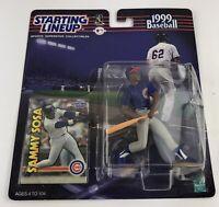 ⚾️ 1999 STARTING LINEUP - SLU - MLB - SAMMY SOSA - CHICAGO CUBS