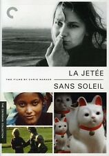 Jetee/Sans Soleil [Criterion Collection] (2007, DVD NEUF) (RÉGION 1)