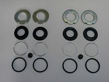 2 x Dichtsatz/Bremssattelüberholsatz hinten für Mercedes R107/C107 Bendix-Bremse