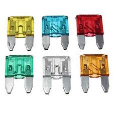 60pcs Mixed Mini Blade Fuse Zinc Alloy and Plastic Material 5A 10A 15A 20A 25 30
