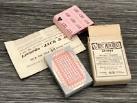 Vintage Card Game - Lecardo Football And Farmers - Unused And Unopened Rare (#4)