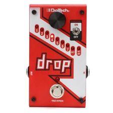 DigiTech Drop Polyphonic DropTune Pitch-Shift Guitar FX Effects Pedal Warranty