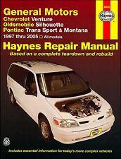 Chevrolet Venture, Olds Silhouette, Pontiac Trans Sport, Montana Repair Manual 1