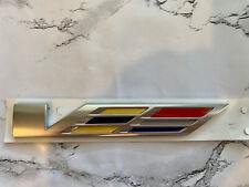 """OEM NEW Rear Trunk Decklid Emblem Badge """"V"""" - 16-19 Cadillac ATS CTS 23356910"""
