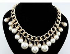 Pearl Pearl Collar Costume Necklaces & Pendants