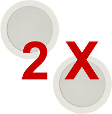 "2x CEILING SPEAKERS 80W 2-Way Hifi  5.25"" 13.3cm Directional Tweeter 952.184"