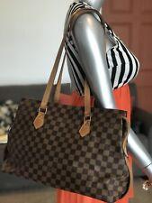 Louis Vuitton  Chelsea columbine Damier ebene  limited edition Bag Tote Purse