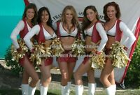 Sexy 4 x 6 Unsigned NFL Cheerleader Photo San Francisco 49ers Goldrush FRC115