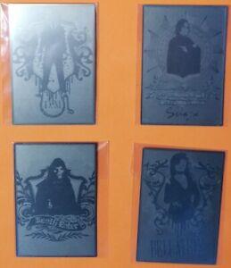 Harry Potter & The Half Blood Prince: 4 Card Metal Box Topper Set  BT1 - BT4