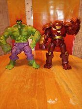 Marvel Universe Iron Man Hulkbuster and The incredible Hulk avengers Figure Lot