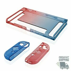 Dockable Protective Case w/ Tempered Glass Screen Protector for Nintendo Switch