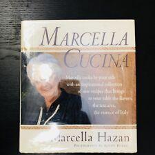 Marcela Cucina By Marcela Hazan 1997 Hard Cover Cookbook