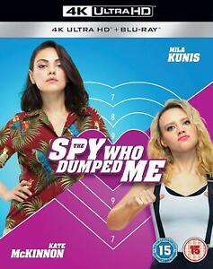 The Spy Who Dumped Me 4K Ultra HD Blu-ray + Blu-ray Brand New & Sealed