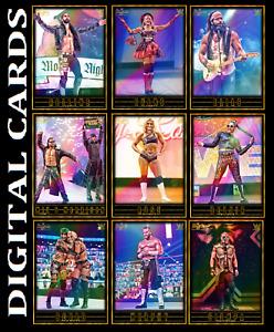 Topps SLAM WWE GLOW 2021 Series 2 [SET 9 BASE CARDS]