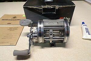 ABU GARCIA AMBASSADEUR FISHING REEL W/ BOX - 6600-AB - SUPER CLEAN & WORKS GREAT