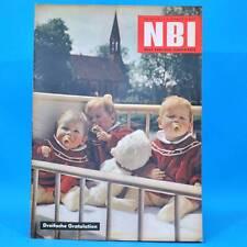 NBI 29/1961 DDR Sülte Krampe Müggelsee Düsseldorf Titicaca-See Tuschino Algerien
