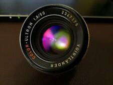 Voigtlander Color Ultron 50mm f1.8 QBM for Rolleiflex SL35
