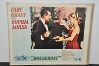 Lobby Card - Houseboat Sophia Loren And Cary Grant 1964 60s Movie Film Poster