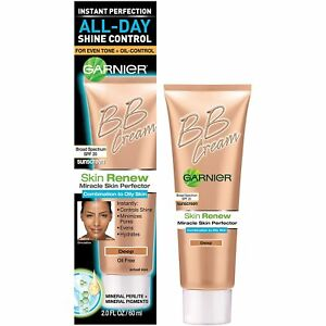 Garnier Skin Renew Miracle Skin Perfector Bb Cream, Combination To Oily Skin