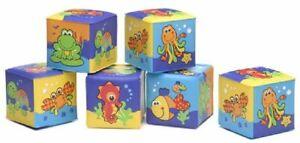 Playgro Soft Blocks Pack - Blue