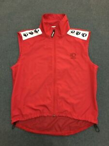 Pearl Izumi Cycling Wind Vest Gilet / Mens Medium M Red