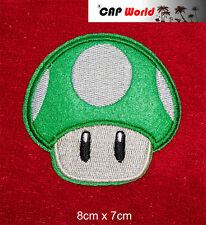 Mario Champignon Level up patch aufbügler écusson insigne Bügelbild patch Cap