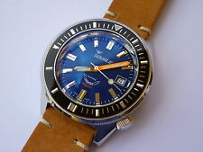 Orologio SQUALE MATIC 60 atmos   Blue  polished