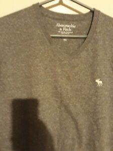 Mens abercrombie and fitch  grey xxl T Shirt