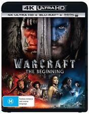 The Warcraft - Beginning : NEW (4K Ultra HD - UHD) Blu-Ray