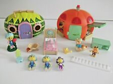 Fifi And The Flowertots Primrose's Cottage ,Market Stall Playset Figures ect