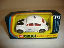 CORGI 373 VOLKSWAGEN 1200 POLICE WHIZZWHEELS - EXCELLENT in original BOX