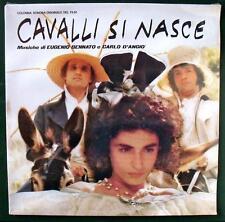 Bennato D'Angiò CAVALLI SI NASCE colonna sonora film Staino vinile sigillato