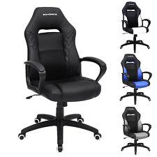 Bürostuhl Gamingstuhl Chefsessel Racing Chair mit Wippfunktion drehbar bis 150kg