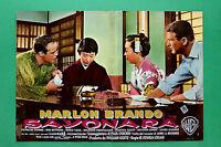 T09 Fotobusta Sayonara Marlon Brando Miiko Taka Patricia Owens Red Buttons 2