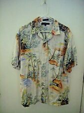 Mens Tommy Hilfiger Tropical Shirt Medium-gently used